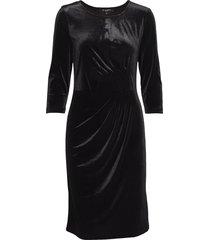 dress knälång klänning svart ilse jacobsen