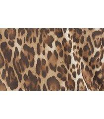 women's wayf solano ruched cowl neck bodysuit, size x-large - beige