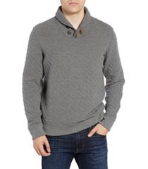 men's billy reid shawl collar pullover, size xx-large - grey