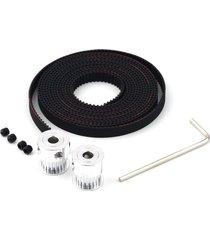 reprap gt 2x2 20t 5mm de diámetro y 2 m de poleas de correa de distrib