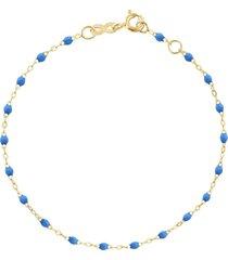blue bead classic gigi bracelet 6.7in