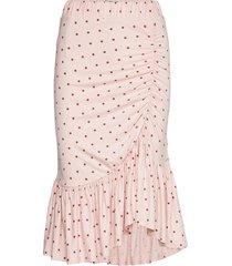 julie knälång kjol rosa baum und pferdgarten