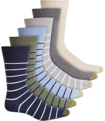 gold toe men's 6-pk. stanton crew socks