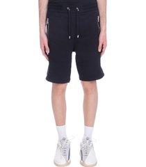 balmain shorts in black cotton