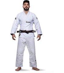 kimono jiu jitsu atama trançado classic - branco