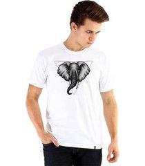camiseta ouroboros elefante masculina