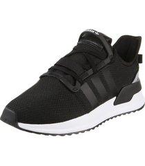 zapatilla negro adidas originals u_path run