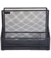 mind reader metal mesh large file organizer storage basket