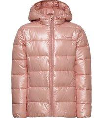 hooded jacket gevoerd jack roze champion