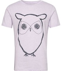 alder big owl tee - gots/vegan t-shirts short-sleeved vit knowledge cotton apparel
