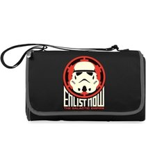 oniva by picnic time star wars storm trooper blanket tote outdoor picnic blanket