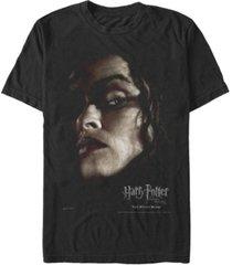 fifth sun harry potter men's bellatrix lestrange big face poster short sleeve t-shirt