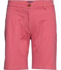 d1. classic chino shorts bermudashorts shorts roze gant