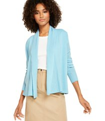 charter club cashmere shawl-collar cardigan, created for macy's
