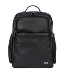 bric's torino large business backpack - black