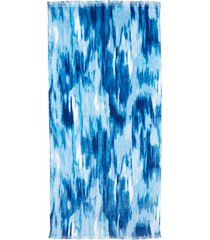 calzedonia beach towel woman blue size tu