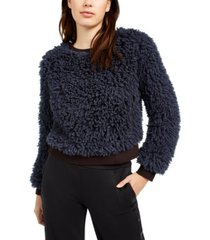 juicy couture faux fur pullover
