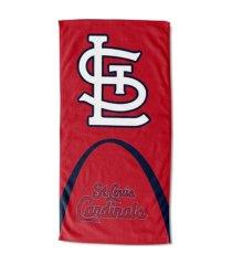 "northwest company st. louis cardinals 30x60 ""arch split"" beach towel"