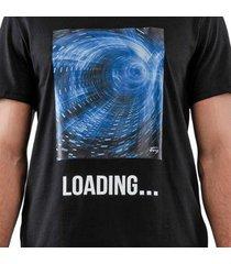 camiseta masculina silk loading confort fit - masculino