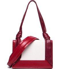 borsa a tracolla per il tempo libero in pelle pu per donna patchwork borsa spalla casual borsa