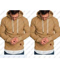 revenge hoodies hombre sudaderas rapper hip hop hooded pullover-amarillo