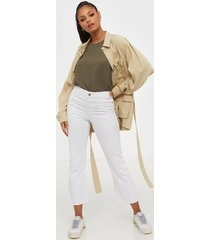 pieces pckamelia kick flared mw jns brwh-v bootcut & flare