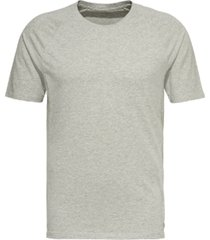 calvin klein, focused fit lounge crewneck t-shirt heather grey, extra large