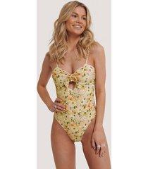 na-kd swimwear knot bikini swimsuit - multicolor