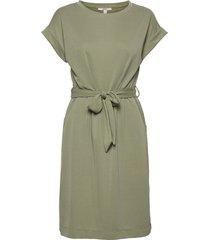 dresses knitted knälång klänning grön esprit casual