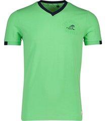 nza t-shirt pembroke lime groen
