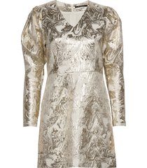 goldie art dress korte jurk goud bruuns bazaar