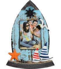 mini porta retrato gaivota kasa ideia - multicolorido - dafiti
