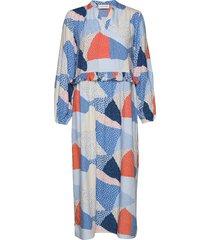 topi long dress maxi dress galajurk multi/patroon storm & marie