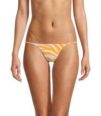 bond-eye women's come back bikini brief - golden - size s