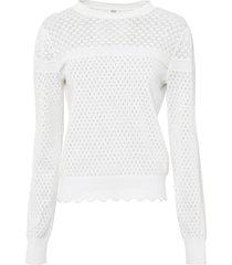 maglione traforato (bianco) - rainbow
