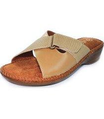 sandalia confort almendra burana 949-027