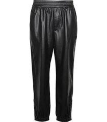 nanushka faux leather trousers