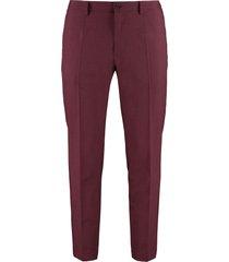 dolce & gabbana stretch wool trousers