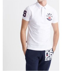 superdry men's classic superstate polo shirt