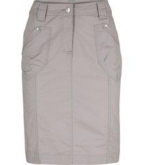 gonna cargo elasticizzata (grigio) - bpc bonprix collection