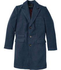 cappotto in simil lana (blu) - bpc selection