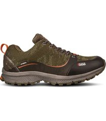 zapato impermeable light rock low all verde lippi