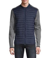 greyson men's tenada mixed-media jacket - maltese - size xxl