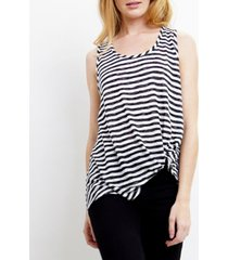 coin 1804 womens stripe twist tank