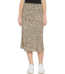 women's sanctuary everyday midi skirt, size small - brown