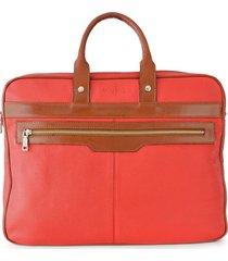 maletín rojo briganti unisex jones