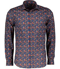 matinique overhemd - slim fit - blauw