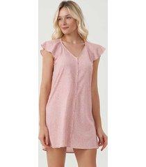 camisola dress de botões 12478 cor com amor