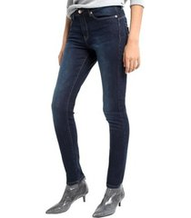 jeans lois pantalon denim blue lua push up 206782960