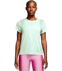 overhemd nike camiseta verde sport mujer aj8121